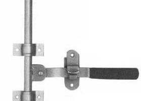 Cerradura de acero
